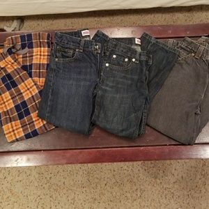 Levis Bundle boys pants sz 7